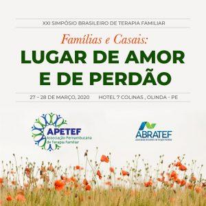 XXI Simpósio Brasileiro de Terapia Familiar @ Hotel 7 Colinas