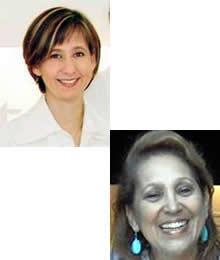 Débora Farinati e Katia Straube