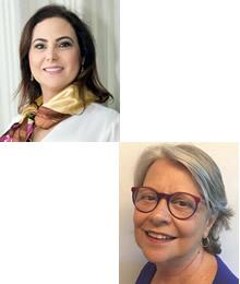 Daniela Bertoncello de Oliveira e Regina Cavour