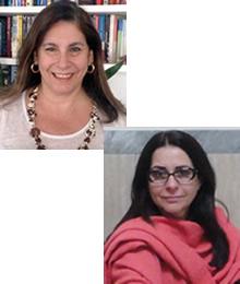 Emília Afrange e Rozane Lapolli Sanz Casseb