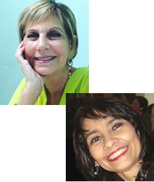 Ieda Zamel Dorfman e Mara Rossato