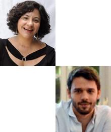 Lilian Rodrigues Tostes  e Eduardo Guimarães