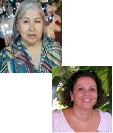 Marli Olina de Souza e Cristina Villaça