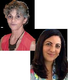 Rosana Galina e Ana Cristina Fróes Garcia