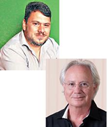 Tiago Tatton e Ovídeo Copstein Waldemar