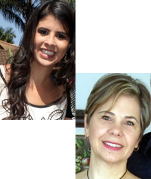 Fernanda Machado e Liara Lopes Krüger