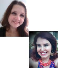 Isabela Machado e Katy Ziegler