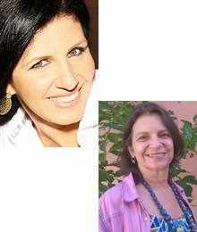 Josiane Foltram Leal e Fernanda Andrade Lima