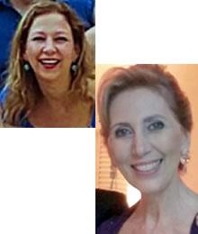 Mara Lins e Maria Aparecida Junqueira Zampieri