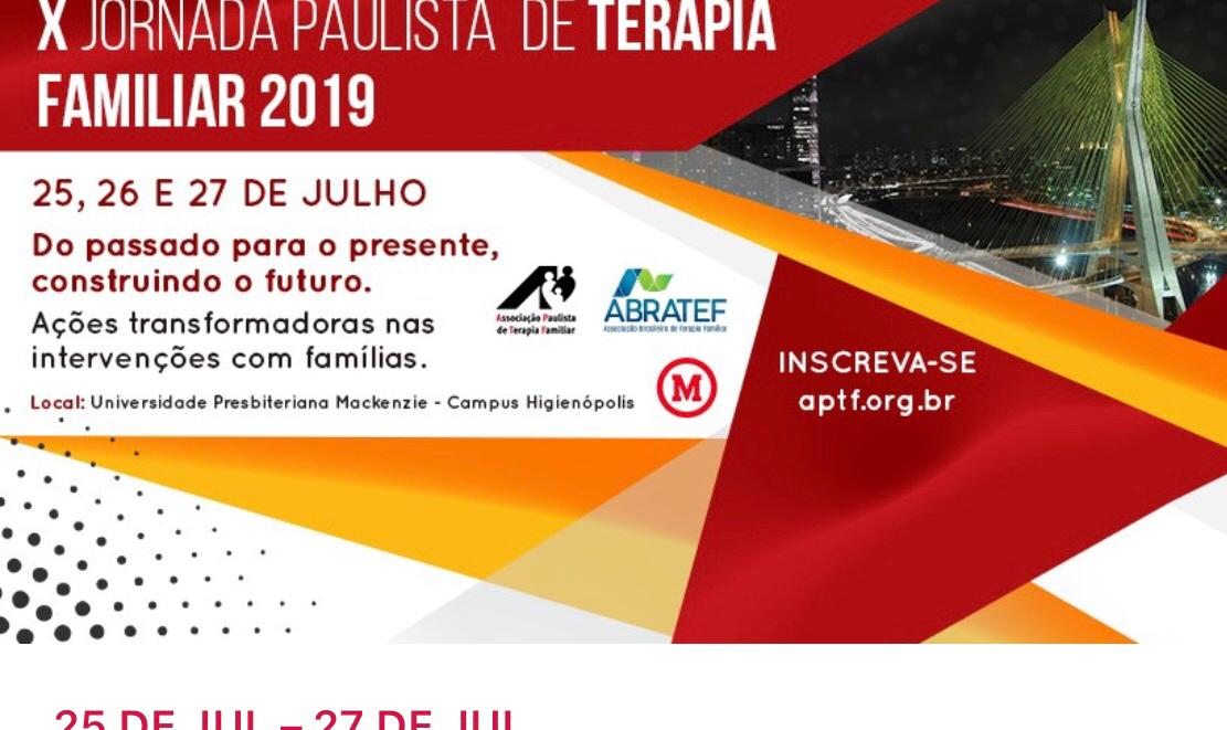 X Jornada Paulista de Terapia Familiar