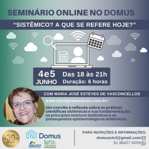 SEMINÁRIO ONLINE DOMUS